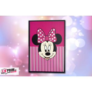 Invitație de botez  - Minnie Mouse