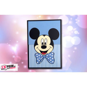 Invitație de botez  - Mickey Mouse