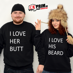 Set Sweatshirt Cuplu - Butt & Beard
