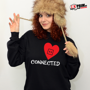 Set Sweatshirt Cupluri - We are CONNECTED