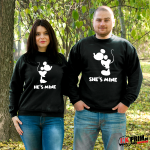 Set Sweatshirt Cuplu - Mickey & Minnie