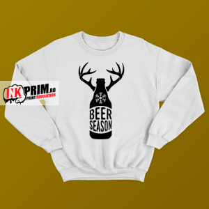 Sweatshirt de Crăciun - Beer season