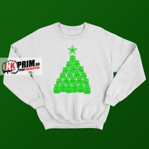 Sweatshirt de Crăciun - Christmas Tree Of Cats