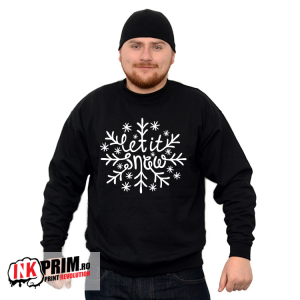 Sweatshirt de Crăciun - Let it snow