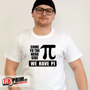 Tricou - Come to the nerd side, we have PI