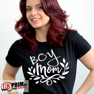 Tricou personalizat - Boy mom