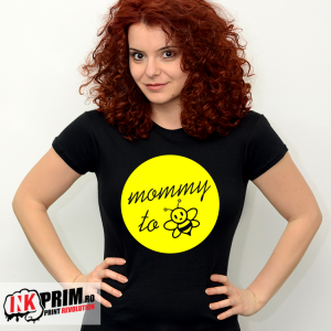 Tricou Personalizat - Mommy to bee