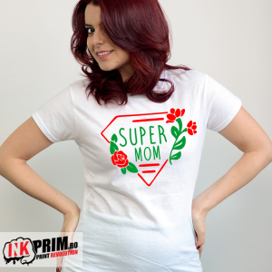 Tricou personalizat - Super Mom
