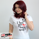 Set tricouri personalizate cuplu - I love you beary much